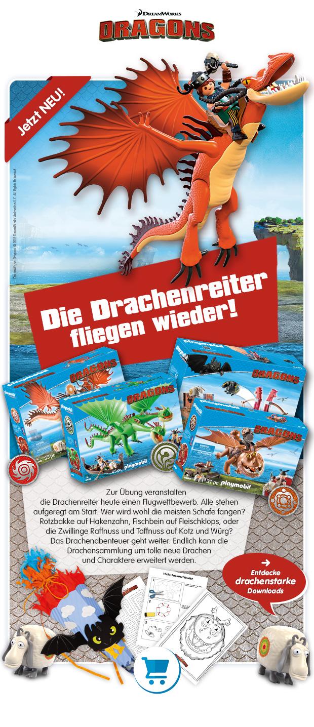 PLAYMOBIL® DreamWorks Dragons2