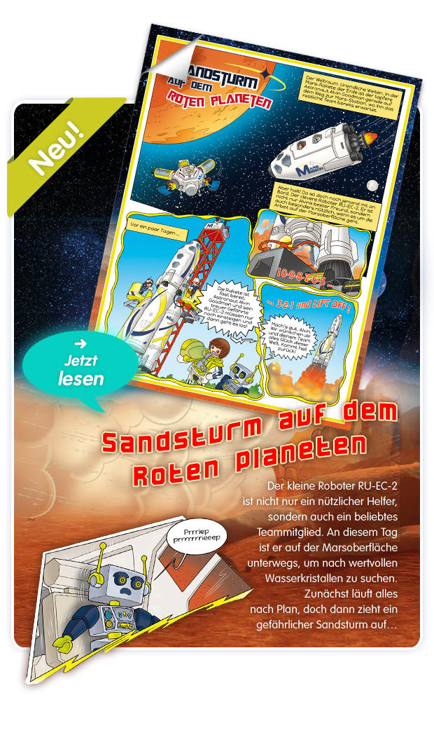 PLAYMOBIL® Space - Comic